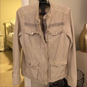 Freepeople utility jacket military, size S